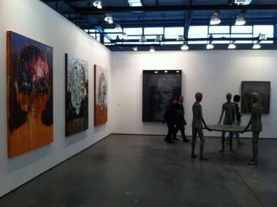 veduta dello stand di Poggiali e Forconi - ArtVerona 2013