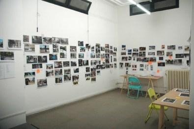 ricostruzione dell'atelier parigino dell'artista, courtesy The Gallery Apart