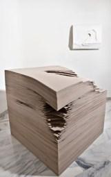 Angela Glajcar, Terforation, veduta allestimento mostra Terforation, Eduardo Secci Contemporary, Firenze