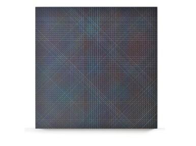 Tamás Jovánovics, '1cm Series - El Corazon', 2013, acrylic and color pencil on MDF board, varnished, 60x60 cm