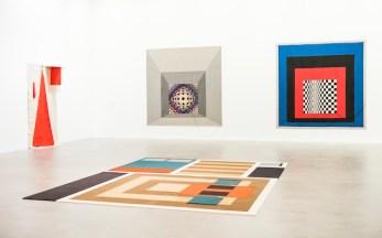 Veduta della mostra Soft Pictures, Fondazione Sandretto Re Rebaudengo, Torino. Foto: Giorgio Perottino