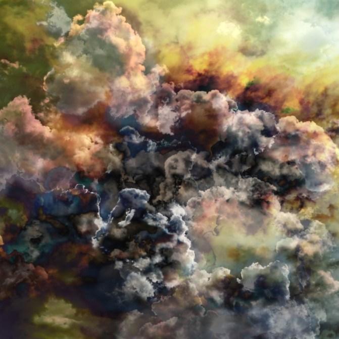Giancarlo Lamonaca, Nube_#21, 2013, stampa a pigmenti su carta cotone, 120 x 120 cm. Courtesy La Giarina Arte Contemporanea, Verona