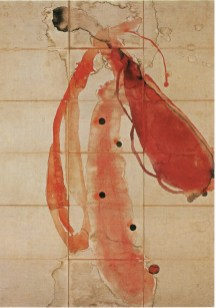 James Brown, Oaxaca work, 1997, tecnica mista su tela