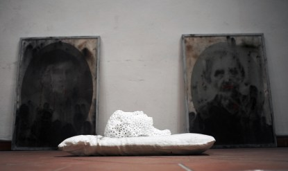 Massimiliano Pelletti, Untitled. Veduta dell'allestimento