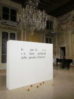 Chiara Principe, Artificiale, 2012, installazione Courtesy dell'artista