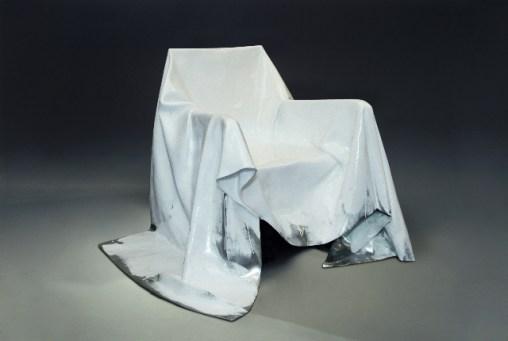 Andrea Salvetti, APPARITA, 2010/2013, pezzo unico, fusione di alluminio lucidato e verniciato, cm 90x117x126
