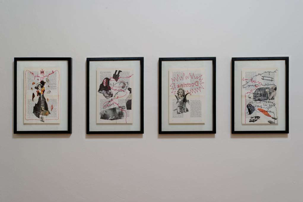 Chiara Fumai, With Love from $inister (XIII, XLIV, LII, LXXXVI), veduta dell'installazione, stanza VI, A Palazzo Gallery, Brescia