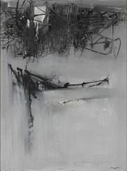 Emilio Scanavino, Costruzione, 1960, olio su tela, cm. 130x97