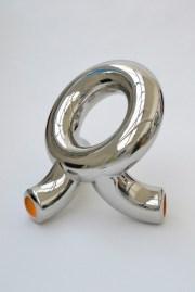 Andrea Salvetti, HOLLY, 2012, acciaio inox lucidato a specchio, cm 85x106x89, serie di 8 esemplari +2aps