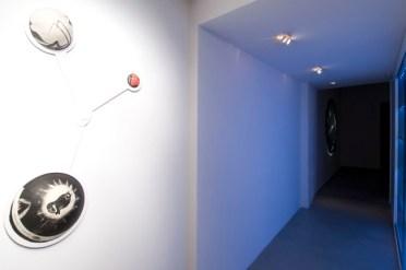 Enzo Cucchi, Cosmogonia, Installation view, Trittico , Courtesy Galleria Poggiali e Forconi