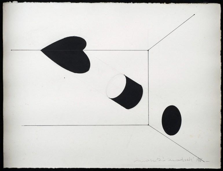 Maurizio Mochetti, Proiezioni, 1966