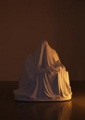 John Isaacs, The Architecture of Empathy, 2014, marmo, 170x94x177 cm Courtesy Galleria Massimo Minini, Brescia