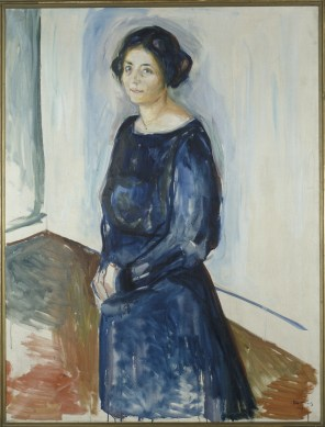 Edvard Munch, Inger Barth, 1921, olio su tela, 130x100 cm, Collezione privata © The Munch Museum / The Munch-Ellingsen Group by SIAE 2013