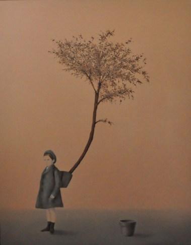 20_ALDO SERGIO, Radici, 2012, olio su tela, 70x55 cm