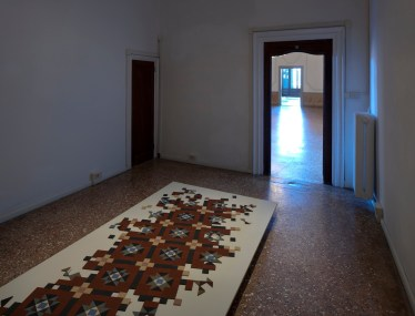 Corin Sworn, The Foxes, 2012, installation at Scotland+Venice, 2013,The Venice Biennale (Palazzo Pisani), Venice Courtesy the artist and Kendall Koppe, Glasgow
