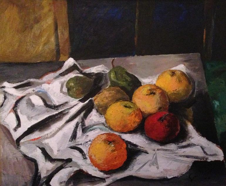 Renato Guttuso, Natura morta, 1962, olio su tela, 50x60 cm Courtesy Galleria de' Bonis