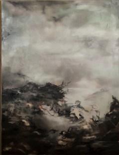 Nazzarena Poli Maramotti, Onhe titel, 2013, olio su tela, 200x150 cm