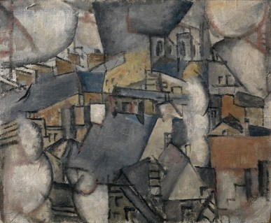 Fernand Léger, Smoke over Rooftops, 1911, olio su tela, 47.50x54.90 cm, Collezione privata © Fernand Léger by SIAE 2014