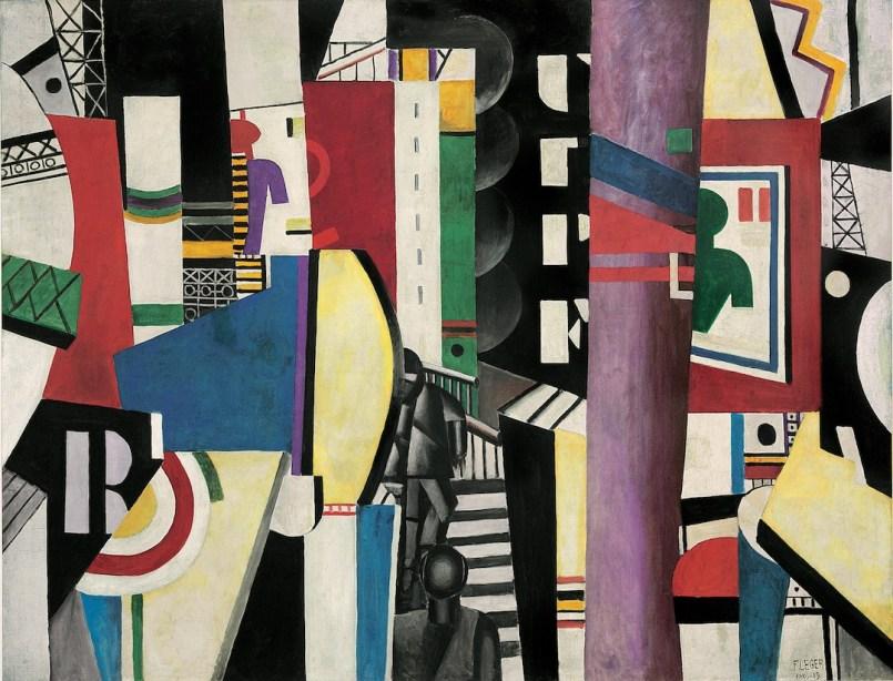 Fernand Léger, La Ville, 1919, olio su tela, 231.14x298.45 cm, Philadelphia Museum of Art, A. E. Gallatin Collection, 1952 © Fernand Léger by SIAE 2014