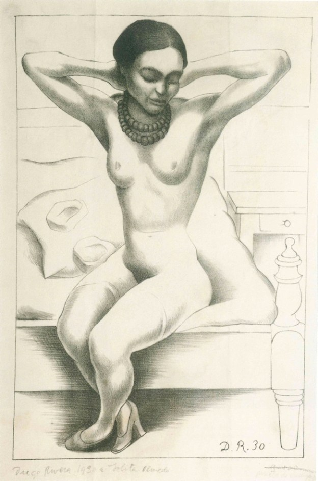 12 - Diego Rivera - Nudo (Frida Kahlo)