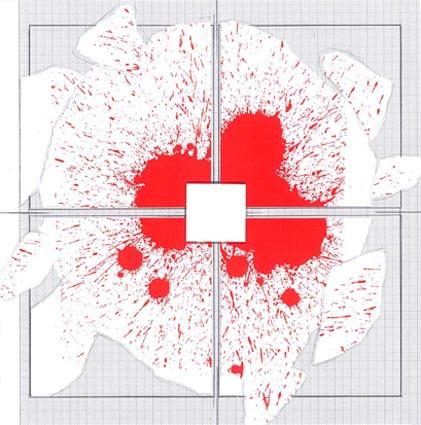 """Giulio Paolini, Studio per """"Red Carpet"""", 2013 Courtesy Galleria Alfonso Artiaco, Napoli"""