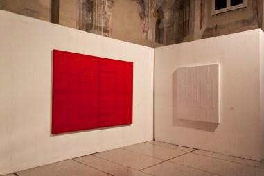 Vincenzo Marsiglia. Riflessione interattiva (veduta della mostra), Ex Chiesa di S. Pietro in Atrio, Como