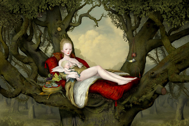 Ray Caesar, Mother And Child