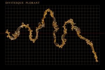 Robert Gligorov, Divitesque Plorant, 2012-2014, vetrofania, 320x248 cm