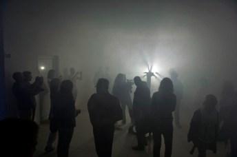dc, la legrosega panduda, performance di Andrea Grotto, Casso, 8 settembre 2013, Nuovo Spazio di Casso, foto Giacomo de Dona