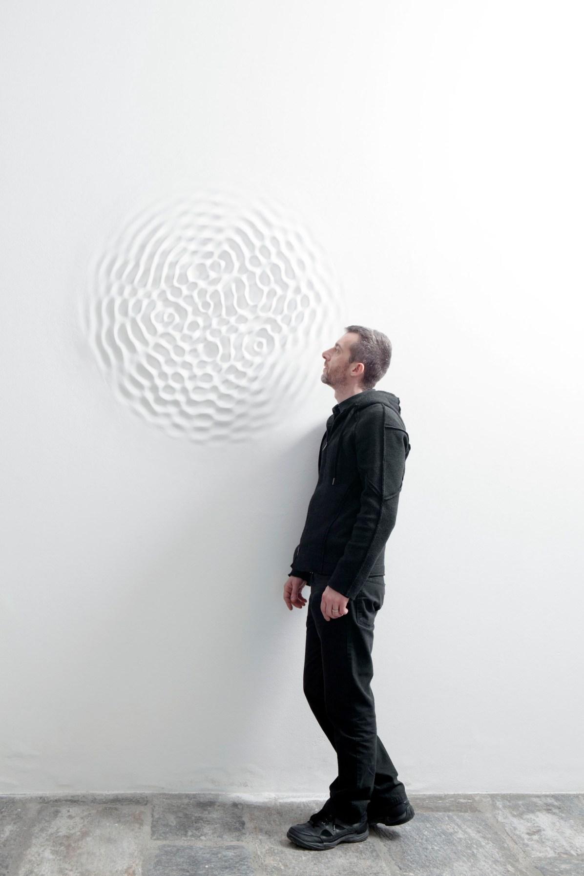 Loris Cecchini, 2014, Fondazione Arnaldo Pomodoro, Milano Foto di Ugo Dalla Porta