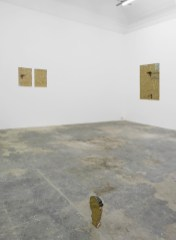Benoit Maire, Beings, installation view, 2014, mixed media, Hollybush Gardens