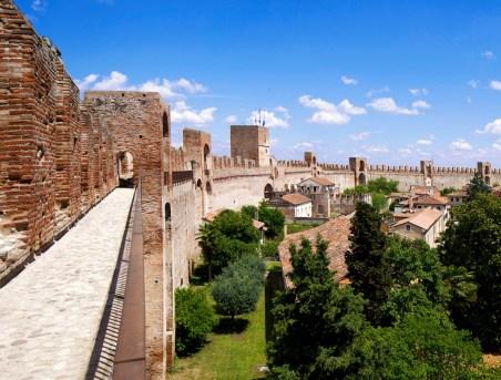 Restauro delle Mura di Cittadella, Padova ad opera dello studio dell'Arch. Patrizia Valle, vincitore Premio Domus