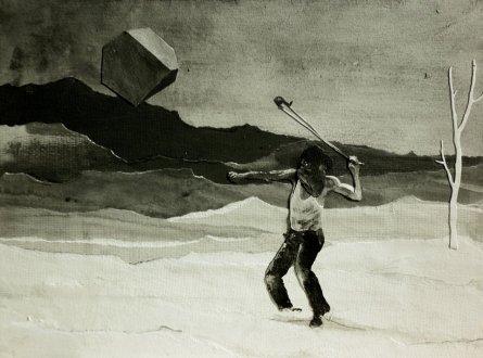 Andrea Mastrovito, Melancholia III, 2013
