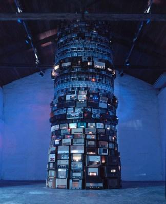 Babel, 2001, Mixed media, Dimensioni variabili