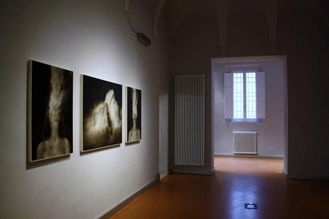 Ettore Frani, Respiri, Museo Nazionale Ravenna, veduta della mostra