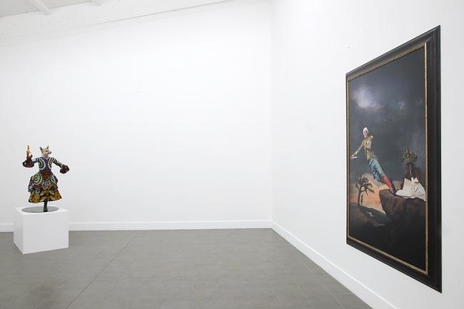 Yinka Shonibare MBE, 2014, Installation view, Brand New Gallery, Milano
