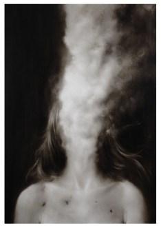 Ettore Frani, 'Comunicanda I ', olio su tavola cm.100x70