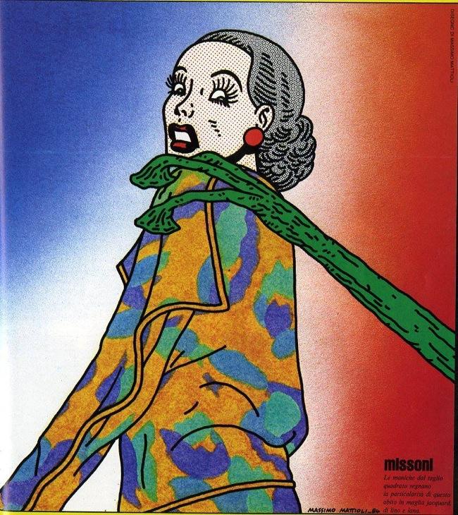 Mattioli, illustrazione di moda