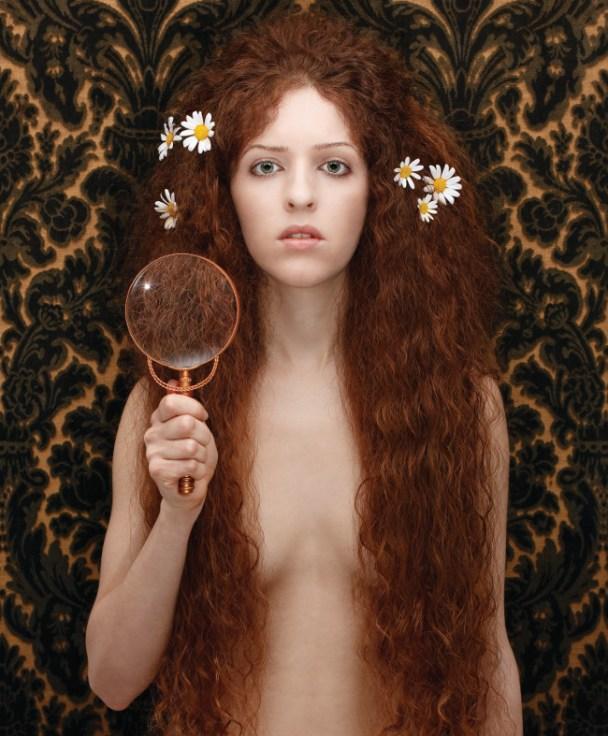 Tania Brassesco & Lazlo Passi Norberto, Nuda Veritas, 2010, dalla serie The Essence of Decadence102 x 84 cm - Edizione limitata