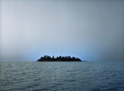 Silvia Camporesi, Studio per l'isola, 2005, C-print, 110x150 cm