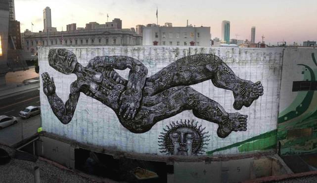 Zio Ziegler, The Cycle of Civilization, 2013, San Francisco