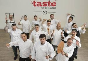 Chef stellati a Taste per Hungry for Art