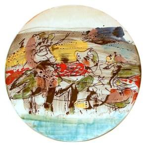 Asger Jorn, Piatto. Collezione Comune di Albissola Marina. Fondo Asger Jorn