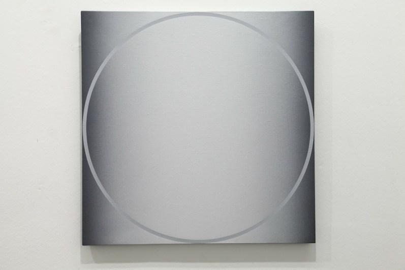 Giuliano Barbanti, SD, 1974, 70x70 cm Courtesy Lorenzelli Arte, Milano