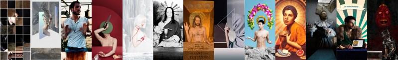 Occhiomagico, Ultima cena reloaded, 2014, stampa fotografica su carta fine art Fujifilm, 650X100 cm, ed. 1/3 Courtesy Sabrina Raffaghello Arte Contemporanea