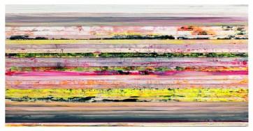 Paolo Bini, dalla serie Cromatismi emozionali, 2014, 125x250 cm