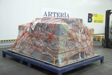 Fiumicino Safe Art, immagini del caveau