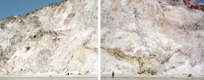 Massimo Vitali Firiplaka Red Yellow Diptych - 2011 C-print con diasec mount, 230 x180 cm cad. per due panelli / C-print with diasec mount, 230 x180 cm each Courtesy Studio la Città - Verona