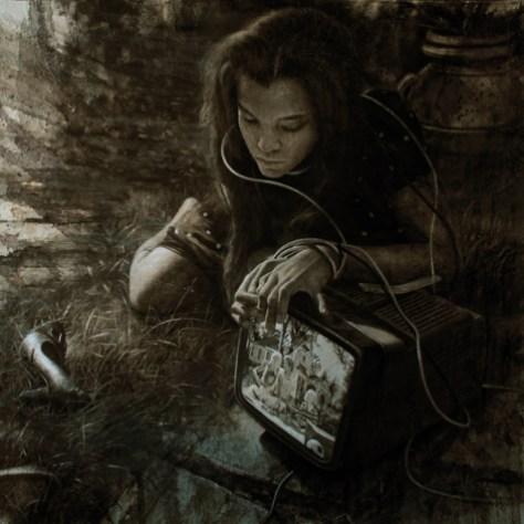 Iacopo Raugei Perfect Lie, 2014 olio su tela oil on canvas cm 100x100