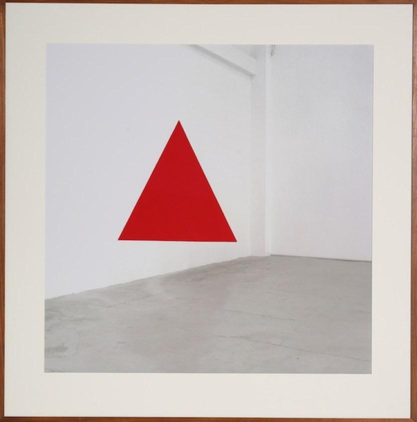 Jan Dibbets Omaggio a Sol LeWitt, 2007 fotografia a colori / color photograph 153 x 151 cm Courtesy Galleria Giorgio Persano, Torino